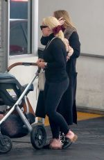 HILARY DUFF Out in Beverly Hills 01/11/2019