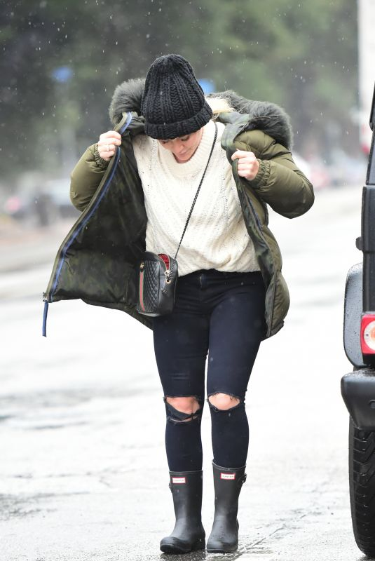 HILARY DUFF Out in Los Angeles 01/14/2019