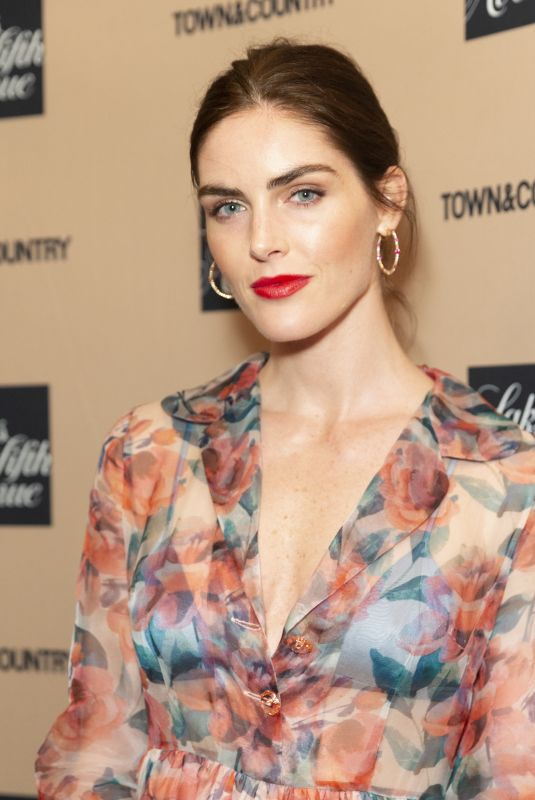 HILARY RHODA at Town & Country Jewelry Awards in New York 01/24/2019