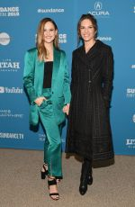 HILARY SWANK at I Am Mother Premiere at Sundance Film Festival 01/25/2019