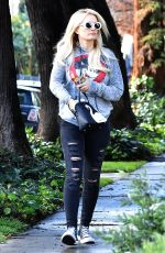 HOLLY MADISON Out and About in Los Angeles 01/07/2019