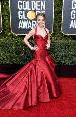 HOLLY TAYLOR at 2019 Golden Globe Awards in Beverly Hills 01/06/2019