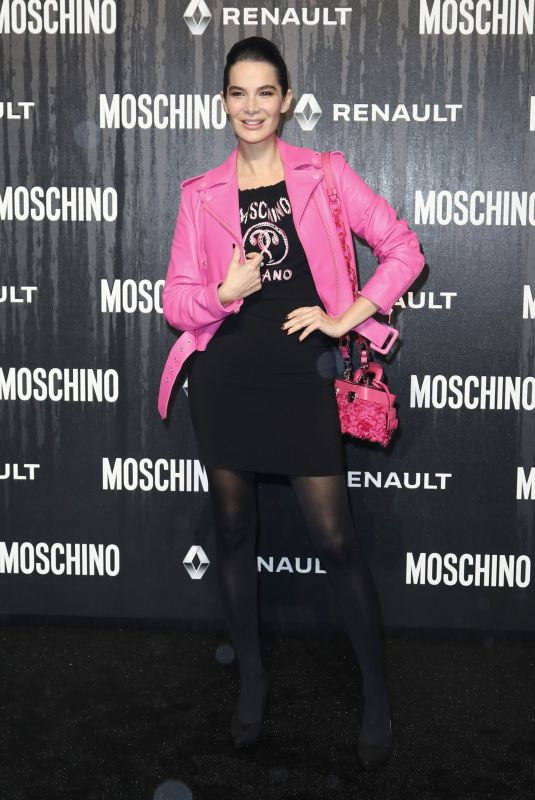 ILARIA SPADA at Moschino Fashion Show in Rome 01/08/2019
