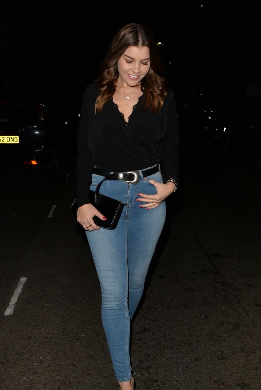 IMOGEN THOMAS at Mnky Hse in London 01/12/2019