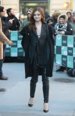INDIA EISEY Arrives at AOL Build Series in New York 01/22/2019
