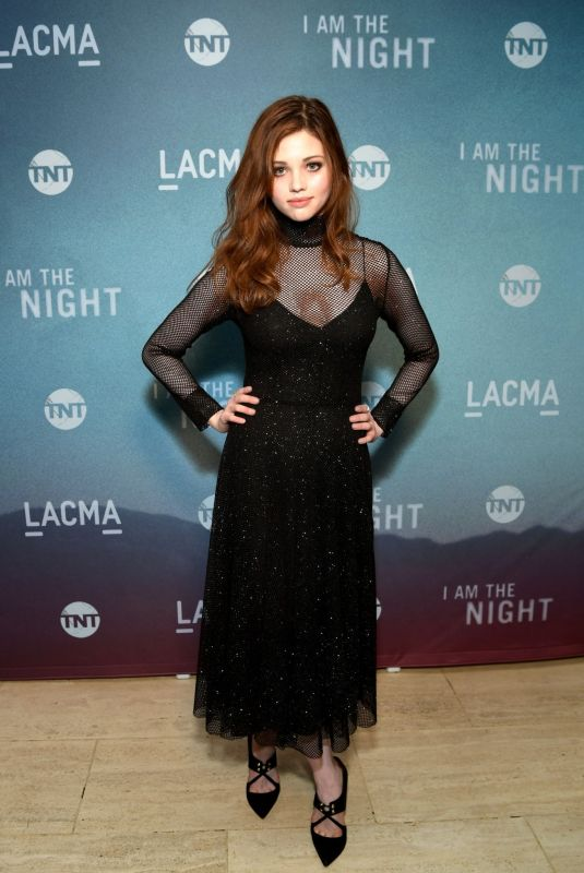 INDIA EISLEY at I Am the Light LACMA Screening in Los Angeles 01/17/2019