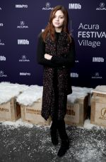 INDIA EISLEY at Imdb Studio at 2019 Sundance Film Festival 01/26/2019