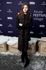 INDIA EISLEY at Imdb Studio at 2019 Sundance Film Festival 01/26/2019