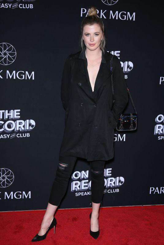 IRELAND BALDWIN at On the Record Opening in Las Vegas 01/19/2019