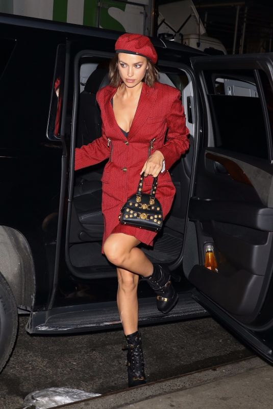 IRINA SHAYK Arrives at National Board of Review Awards Gala in New York 01/08/2019