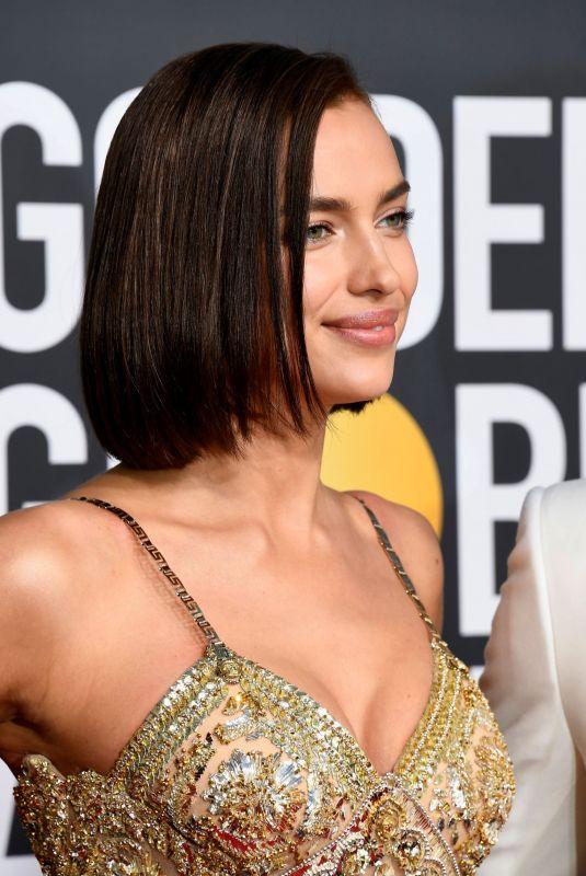IRINA SHAYK at 2019 Golden Globe Awards in Beverly Hills 01/06/2019