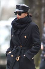 IRINA SHAYK Out and About in New York 01/19/2019