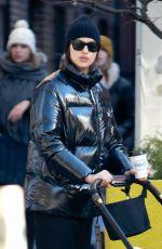 IRINA SHAYK Out in New York 01/13/2019