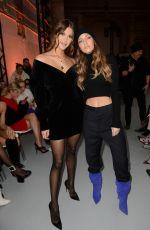 IRIS MITTENAERE at Alexandre Vauthier Fashion Show in Paris 01/22/2019