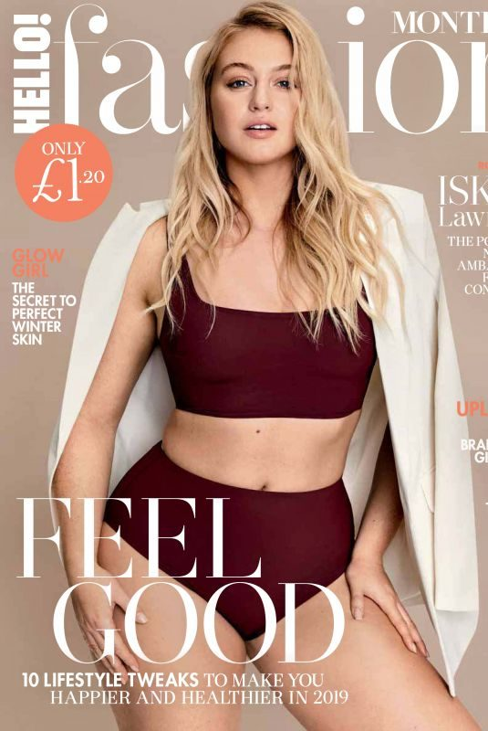 ISKRA LAWRENCE in Hello! Fashion Monthly, February 2019