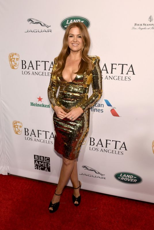 ISLA FISHER at Bafta Tea Party in Los Angeles 01/05/2019