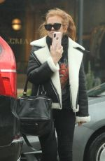 ISLA FISHER Out for Lunch at Le Pain Quotidien in West Hollywood 01/16/2019