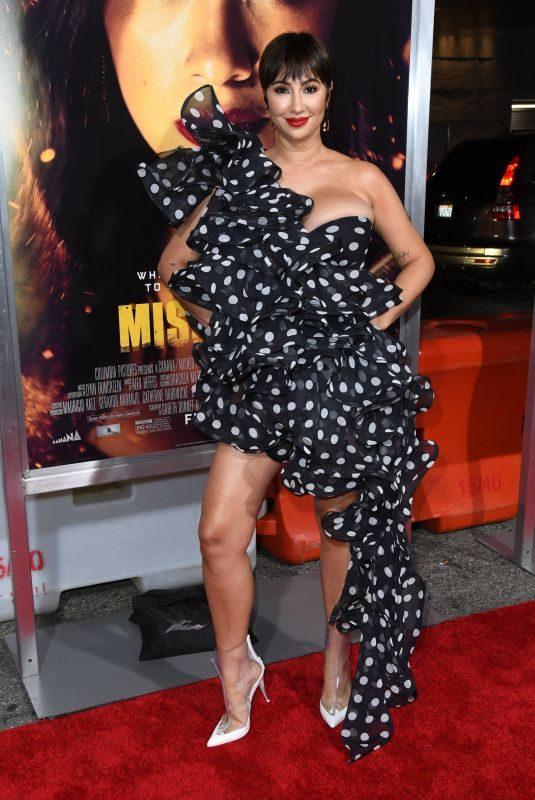 JACKIE CRUZ at Miss Bala Premiere in Los Angeles 01/30/2019