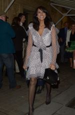 JACKIE ST CLAIR Leaves at Royal Albert Hall in London 01/16/2019