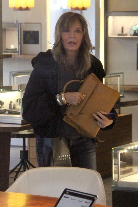 JACLYN SMITH Out Shopping in Beverly Hills 01/18/2019