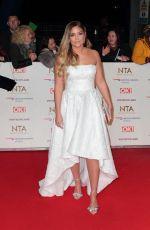 JACQUELINE JOSSA at National Televison Awards in London 01/22/2019