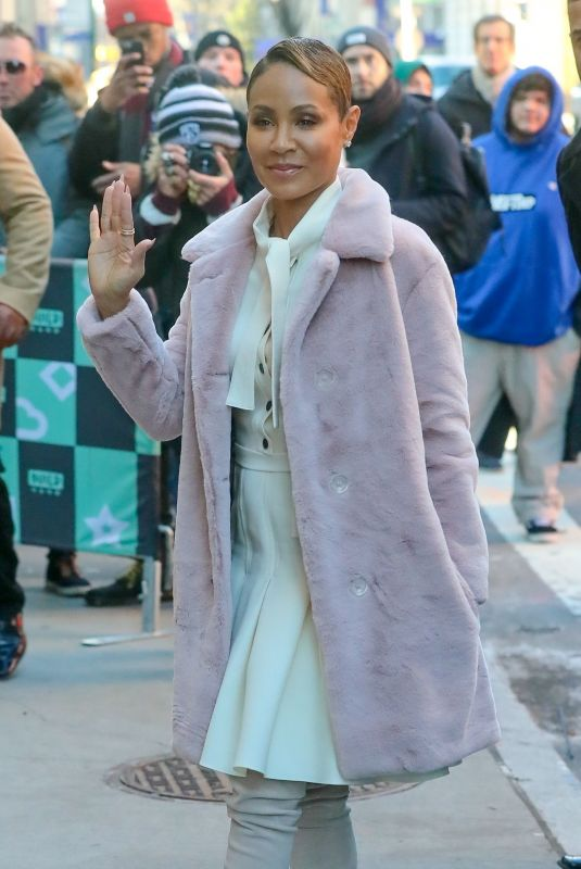JADA PINKETT SMITH at Build Series in New York 01/22/2019