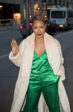JADA PINKETT SMITH Out and About in New York 01/21/2019