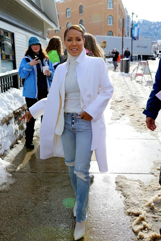 JADA PINKETT SMITH Out at Sundance Film Festival 01/25/2019