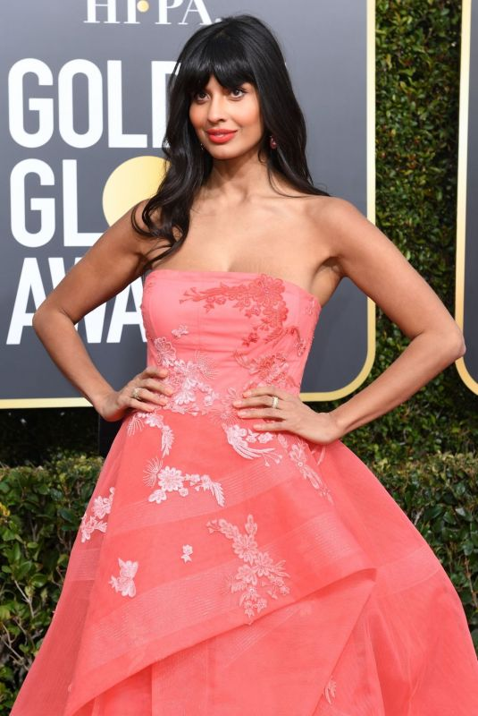 JAMEELA JAMIL at 2019 Golden Globe Awards in Beverly Hills 01/06/2019