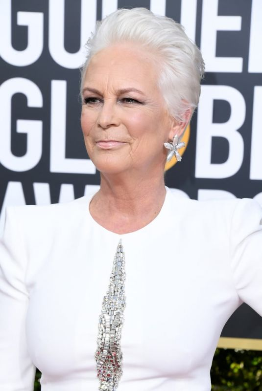 JAMIE LEE CURTIS at 2019 Golden Globe Awards in Beverly Hills 01/06/2019