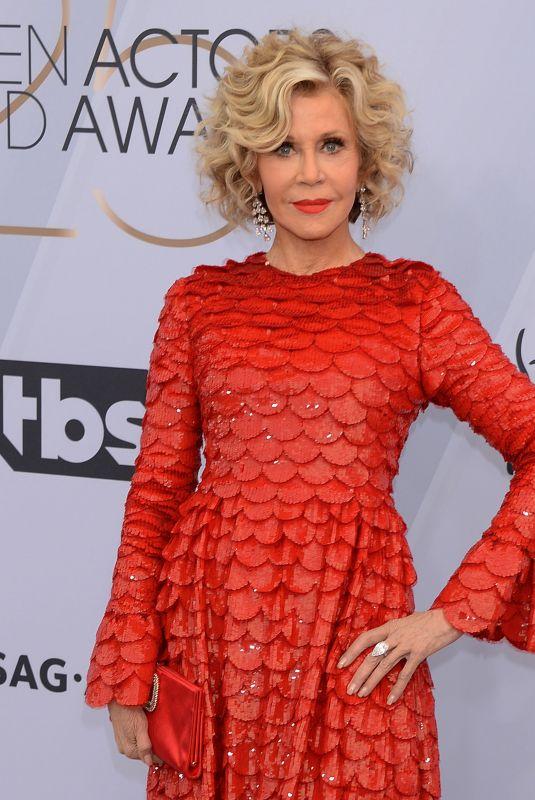JANE FONDA at Screen Actors Guild Awards 2019 in Los Angeles 01/27/2019