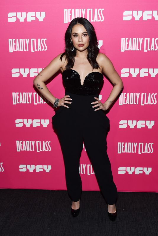 JANEL PARRISH at Deadly Class Premiere in West Hollywood 01/03/2019