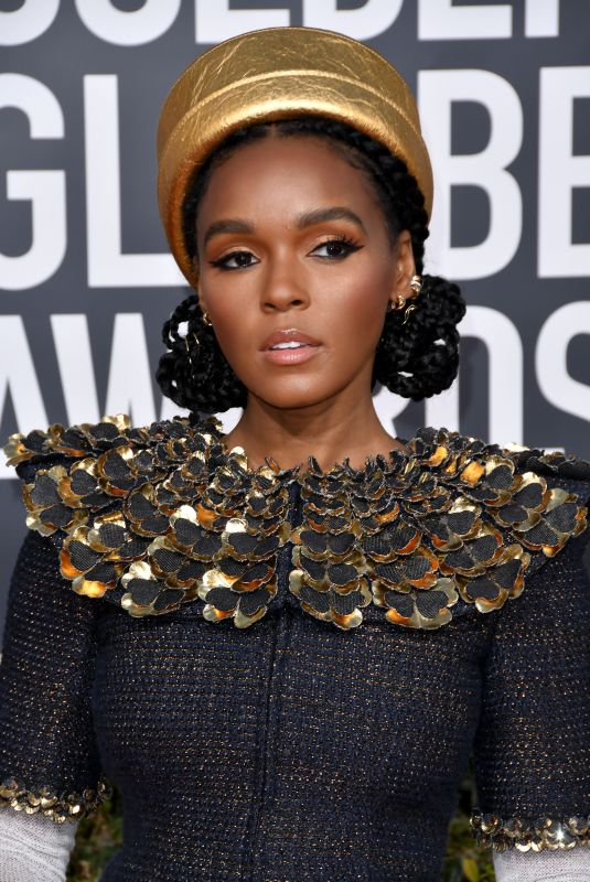 JANELLE MONAE at 2019 Golden Globe Awards in Beverly Hills 01/06/2019