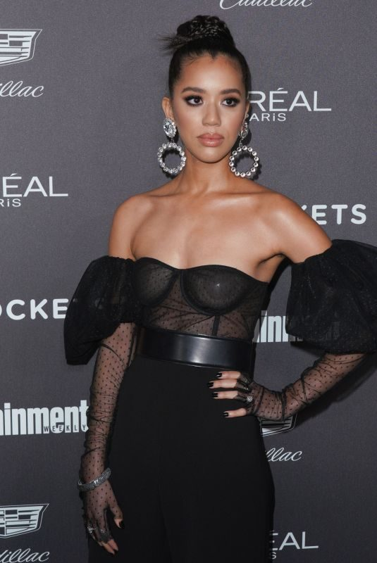 JASMIN SAVOY BROWN at Entertainment Weekly Pre-sag Party in Los Angeles 01/26/2019