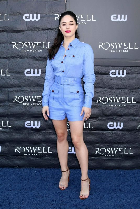 JEANINE MASON at Roswell, New Mexico Experience in West Hollywood 01/10/2019