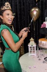 JEANNIE MAI at Roll & Glow Roller Skating Soiree 40th Birthday in Los Angeles 01/24/2019
