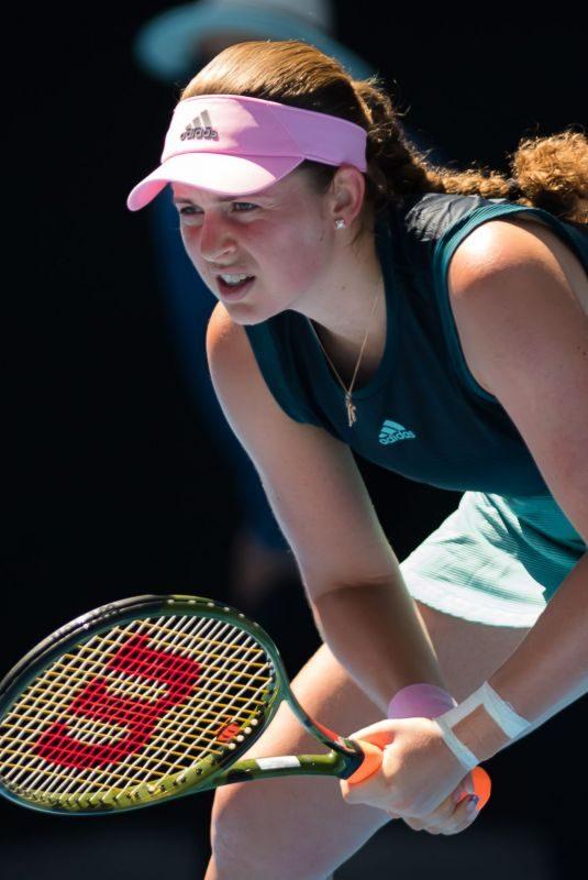 JELENA OSTAPENKO at 2019 Australian Open at Melbourne Park 01/14/2019