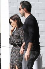 JENNA DEWAN and Steve Kazee Out in Los Angeles 01/26/2019
