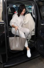 JENNA DEWAN at LAX Airport in Los Angeles 01/24/2019