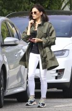 JENNA DEWAN Out and About in Los Angeles 01/29/2019