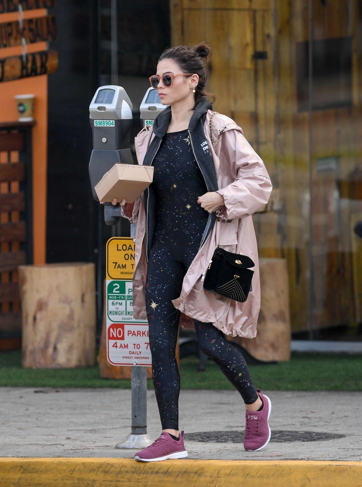 JENNA DEWAN Out in Los Angeles 01/18/2019