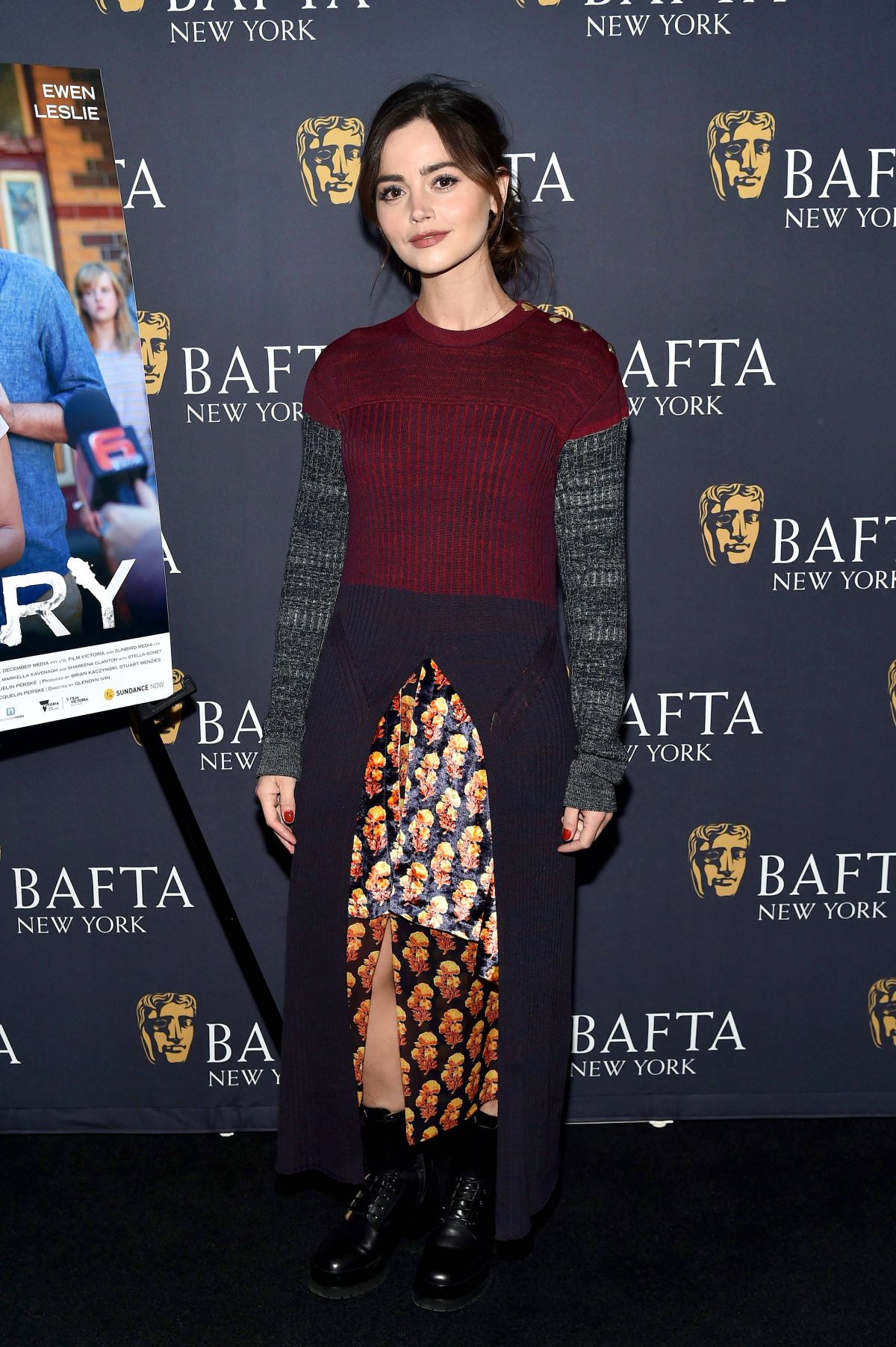 JENNA LOUISE COLEMAN at The Cry Bafta Screening in New York 01/10/2019