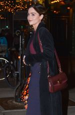 JENNA LOUISE COLEMAN Leaves Bowery Hotel in New York 01/10/2019