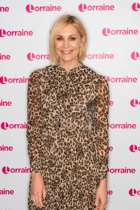 JENNI FALCONER at Lorraine Show in London 01/04/2019