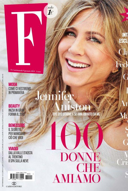 JENNIFER ANISTON in F Magazine, January 2019