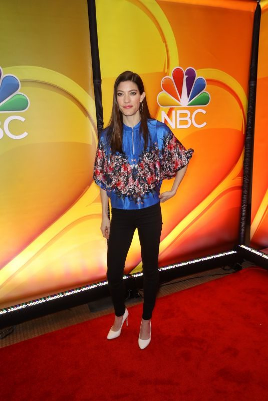 JENNIFER CARPENTER at NBC New York Mid Season Press Junket in New York 01/24/2019