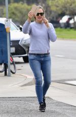 JENNIFER GARNER in Denim Out in Santa Monica 01/29/2019