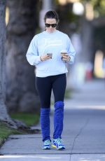 JENNIFER GARNER Out and About in Santa Monica 01/09/2019