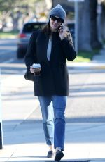 JENNIFER GARNER Out and About in Santa Monica 01/23/2019