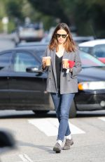 JENNIFER GARNER Out for Coffee in Los Angeles 01/30/2019